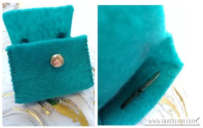 Craftyism - How to-Miniature Handbag | Step 6