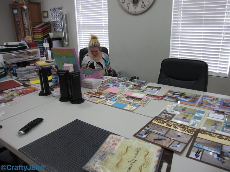 Scrapbooking Over the Years -- Visit CraftyJBird.com for more info...