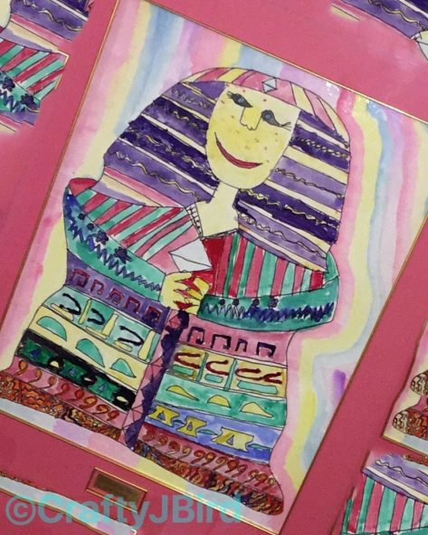 JBird's 5th grade Egyptian Painting