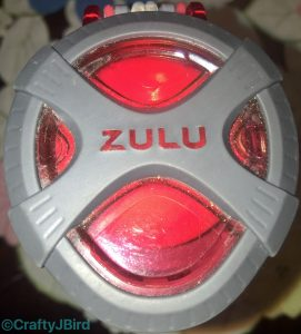 ZuLu Water Bottle with Young Living Lemon Vitality Essential Oil