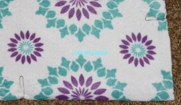 No-Sew Blanket -- Visit craftyjbird.com for more info