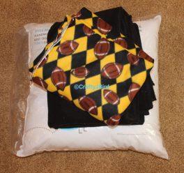 No-Sew Floor Pillow -- Visit CraftyJBIrd.com for more info