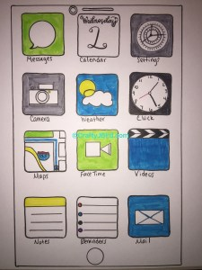 Dad's iPhone -- Visit CraftyJBird.com for more info...
