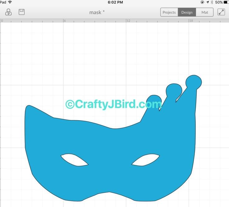 Mardi Gras Time -- Visit CraftyJBird.com for more info...
