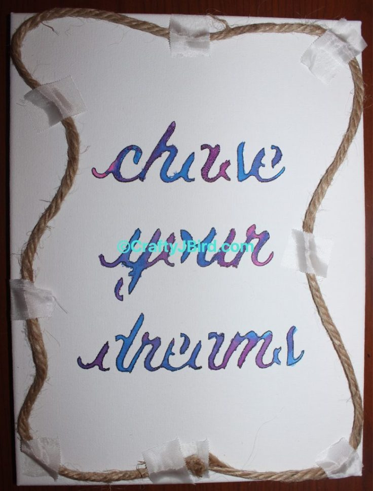 Chase Your Dreams -- Visit CraftyJBird.com for more info...