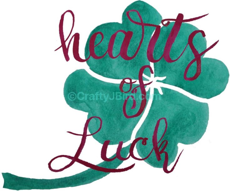 Hearts of Luck -- Visit CraftyJBird.com for more info...
