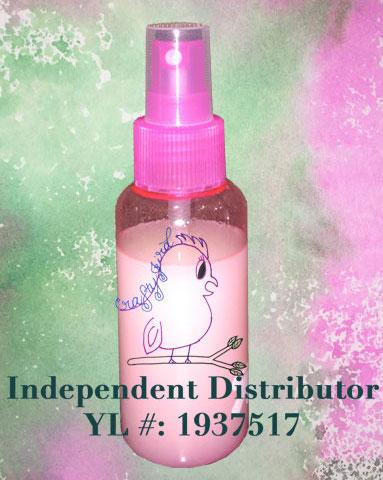 Bye Bye Bugs Spray -- Visit CraftyJBird.com for more info...