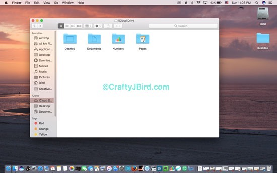 Apple iCloud Drive -- Visit CraftyJBird.com for more info...