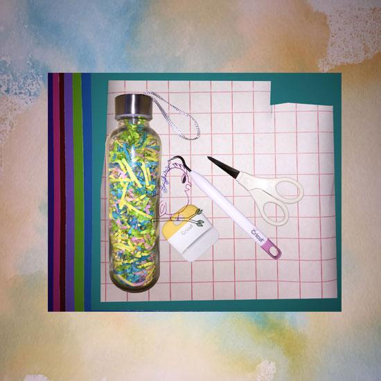 Retreat Water Bottles -- Visit CraftyJBird.com for more info...