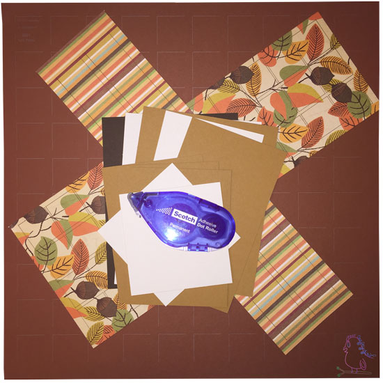 Mosaic Moments All About Autumn -- Visit CraftyJBird.com for more info...