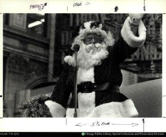 Santa in 1937's Christmas Caravan