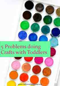 Toddler Craft Struggles