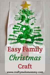 Easy Christmas Craft for the Family