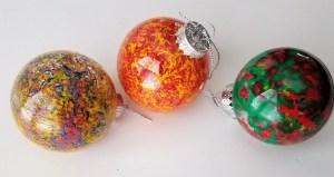 Easy Toddler DIY Ornament