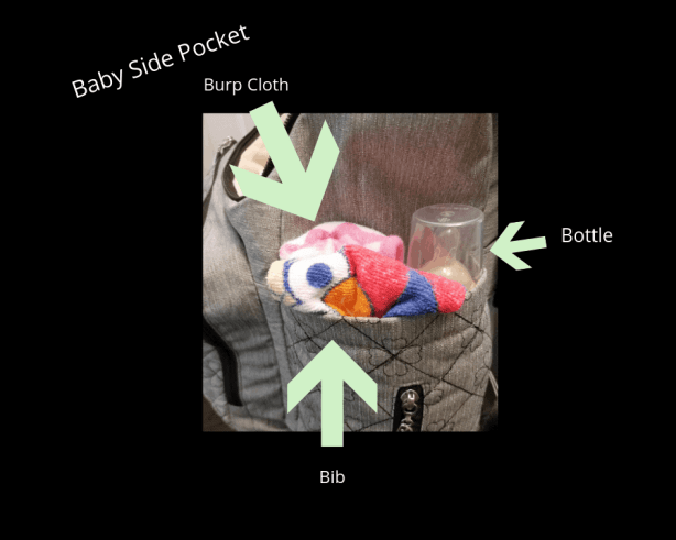 How to organize a backpack diaper bag