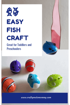 Use this easy fish craft to teach your child colors, letters, numbers, or animals! So easy to create and so much fun to use to teach!