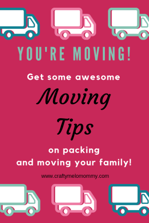 You're moving your family? Take a look at these moving tips, tricks, and hacks I found to be amazingly helpful when trying to pack when I was 6 months pregnant and had a toddler running around.