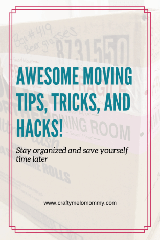 Moving soon? Try these tips tricks and hacks on where to start, how to pack, how to organize, and where to start unpacking.