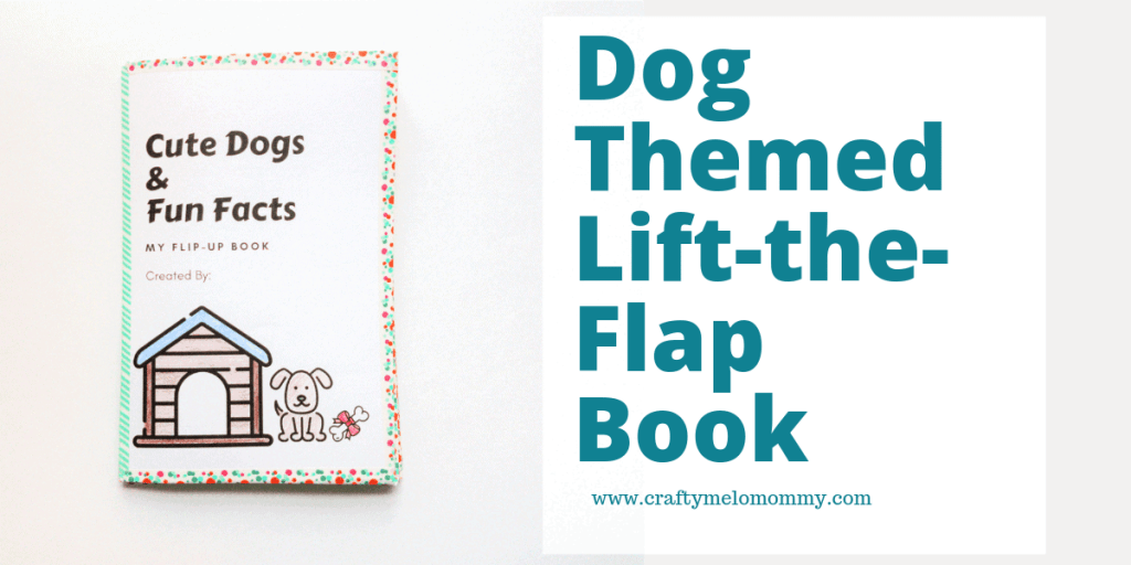 Dog Themed lift-the-flap book