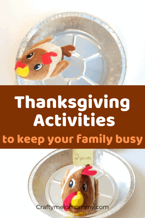 Super Simple Thanksgiving Activities for the kids and rest of the family. Everyone will want to play. Super Simple to set up and lots of fun to play. All of these Thanksgiving Activities are for kids, for families, for elementary, preschool, for toddlers, PreK, and for kindergartners. #ThanksgivingActivities #EasyThanksgivingActivities #FunKidsThanksgivingActivites