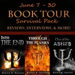 Through the Flames by Bonnie R. Paulson #bookreview #booktour
