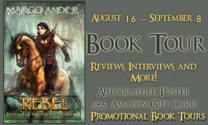 Legend of the Spider Prince by Margo Ander #bookreview #booktour