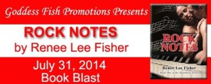 Heart Beat Series: Rock Notes, Love Notes and Music Notes by Renee Lee Fisher @goddessfish #giveaway