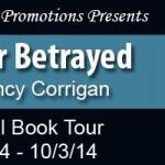 Hunter Betrayed by Nancy Corrigan #bookReview #authorInterview @goddessfish