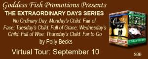 THE EXTRAORDINARY DAYS SERIES by Polly Becks @goddessfish