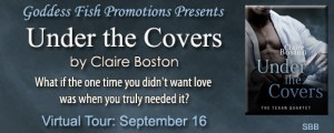 Under the Covers  by Claire Boston @goddessfish #bookReview