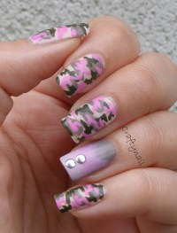 Pink Camo! - Craftynail
