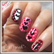 valentines day nail art craftynail