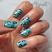 aqua nail art craftynail