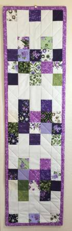 Fresh Lilacs Table Runner