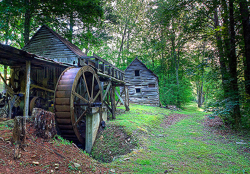 Dellingers Mill in Bakersville, NC