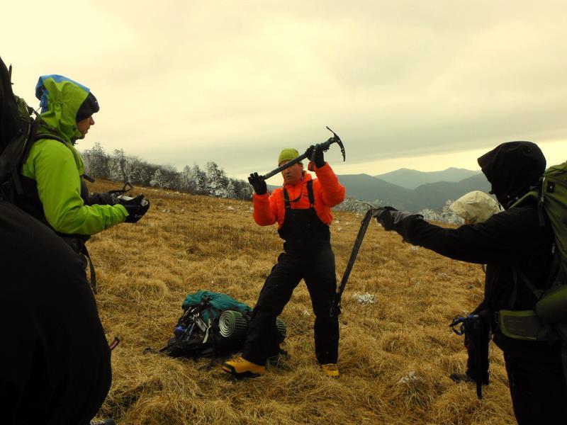 Mountaineering Snow School
