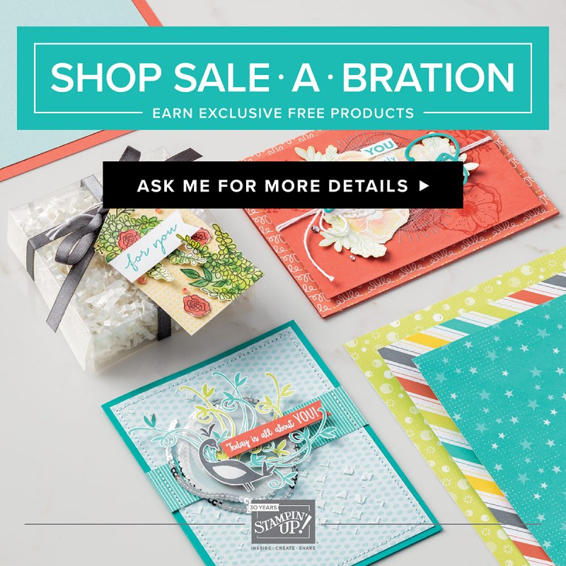 Stampin' Up! Sale-a-Bration Banner