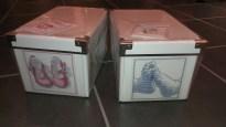 Mini-Mum - Cross-Stitch Memory Boxes