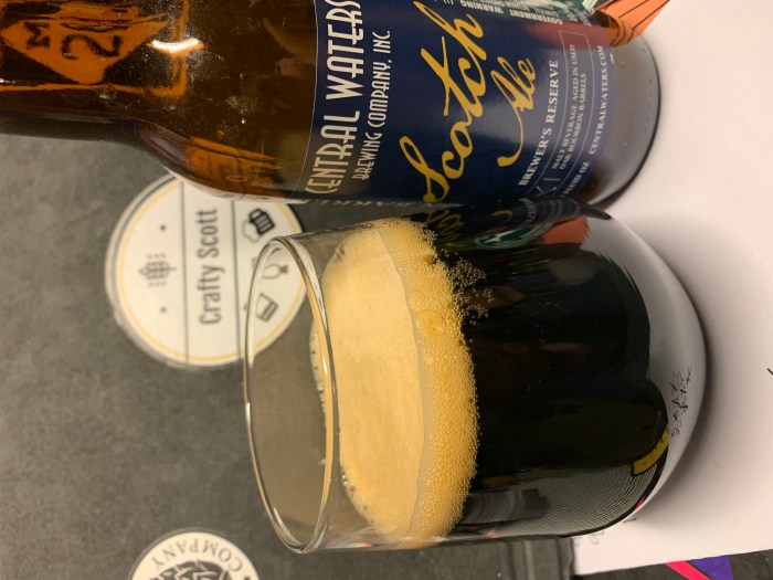 Central Waters BBA Scotch Ale