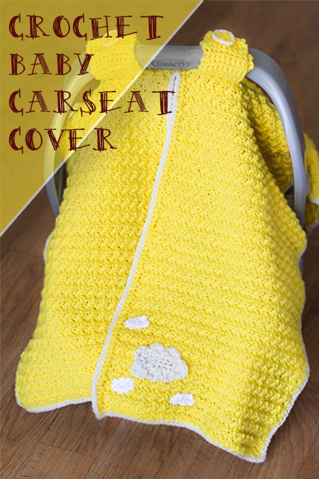 Crochet Book Cover Tutorial : Car seat cover crochet crafty tutorials