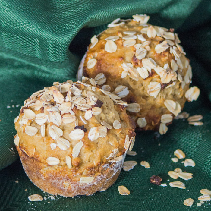 Healthy Honey and Oats Muffin Recipe 1