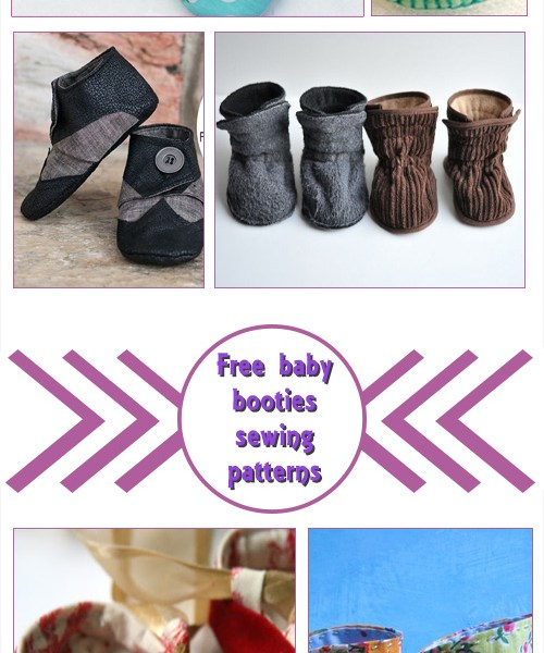 Free Baby Booties Sewing Patterns