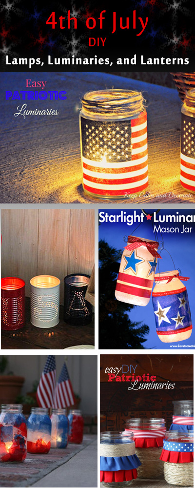 4th of July Lamps, Luminaries, and Lanterns 3