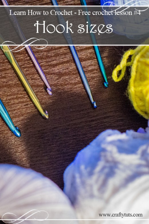 Learn How to Crochet #4 Hook sizes 2
