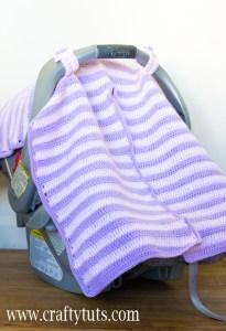 Crochet Car Seat Cover Free Pattern Crafty Tutorials