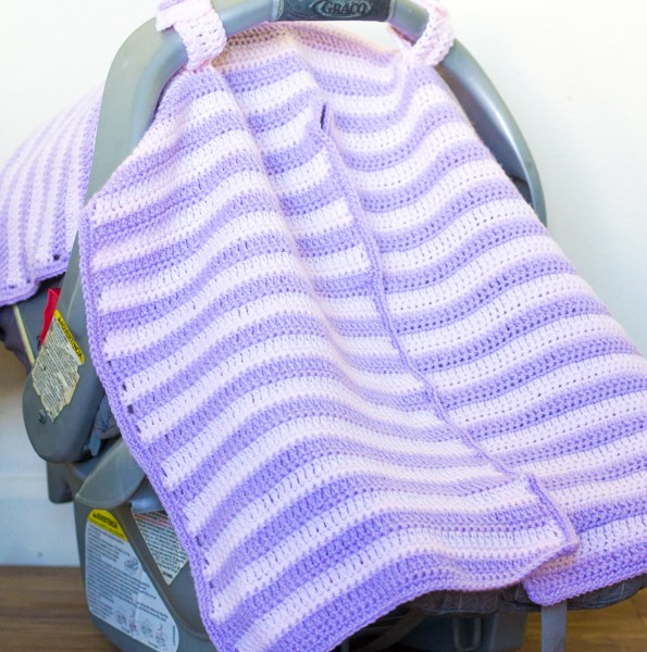 Crochet Car Seat Cover – Free Pattern