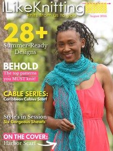 I Like Knitting August 2016 - Review. Check all the patterns included in the August 2016 Issue of the Magazine I Like Knitting and their review.