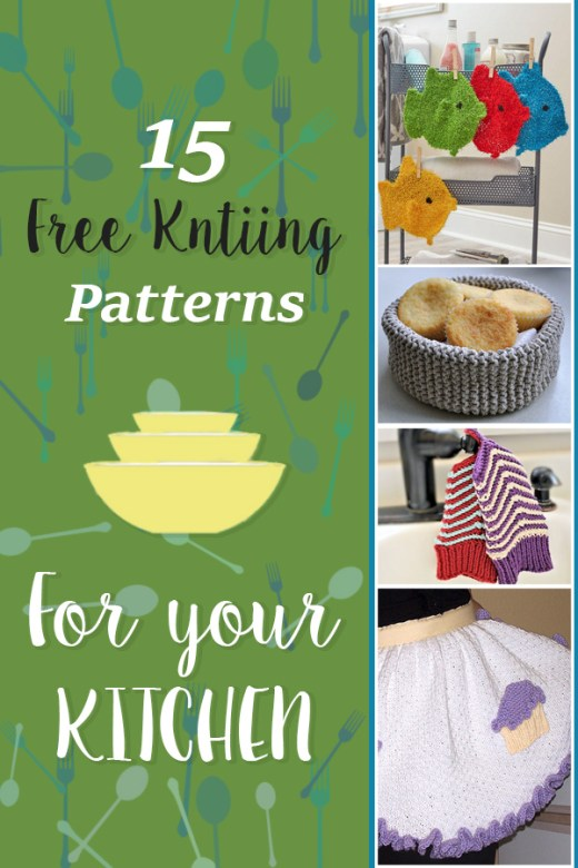 Free Knitting Patterns for your kitchen 6