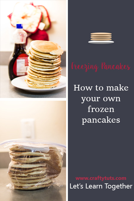How to make your own frozen pancakes crafty tutorials for How much can you save building your own house