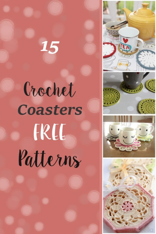 15 FREE Crochet Coaster Patterns 4